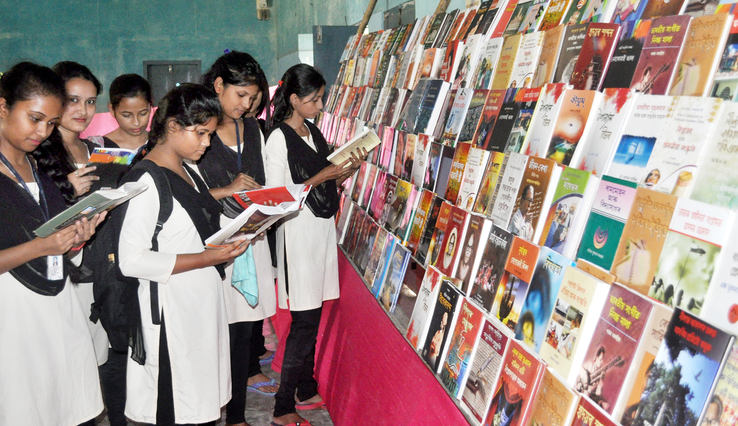 BOOK FAIR ,Thu college