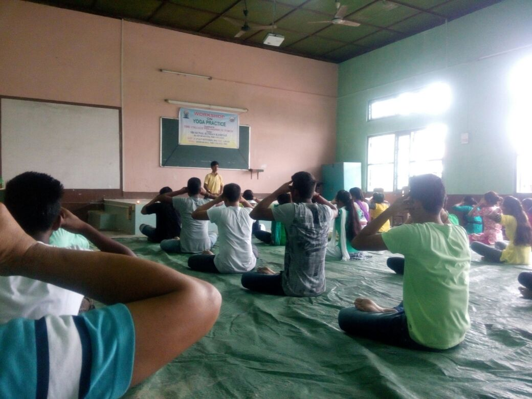 Workshop on YOGA Practice